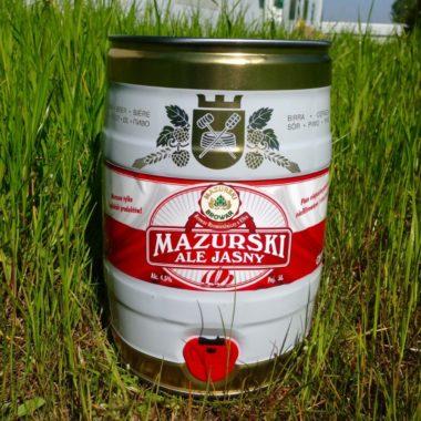 Mazurski ale jasny – PARTY KEG 5L