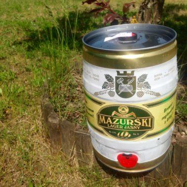 Mazurski lager jasny – PARTY KEG 5L
