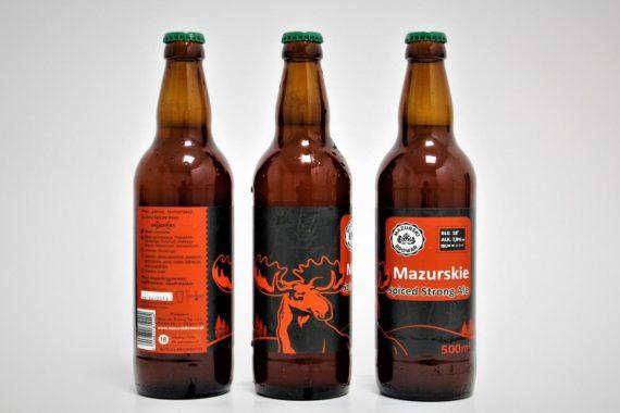 Spiced  Strong  Ale mazurskie