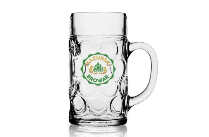 Kufel do piwa Isar<br/>pojemność 1L
