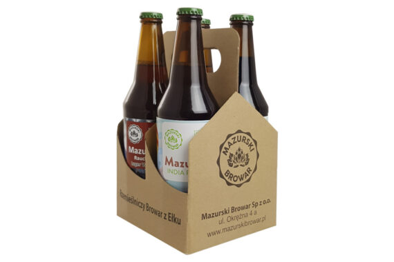 Piwopak z czterema piwami<br/>piwa do wyboru